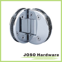 Glass to Glass 90 Degree Double Semicircle Shower Hinge (BH7004)